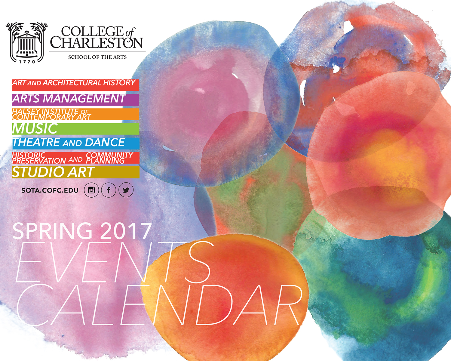 Spring 2017 Arts Events